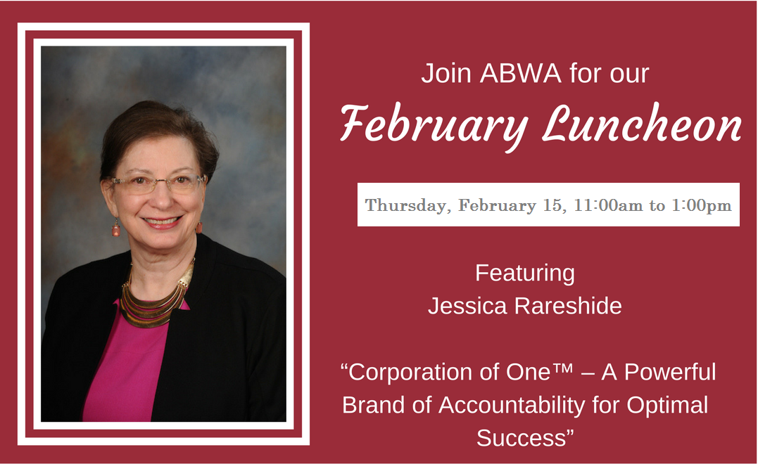 ABWA Announces Jessica Rareshide for February Luncheon