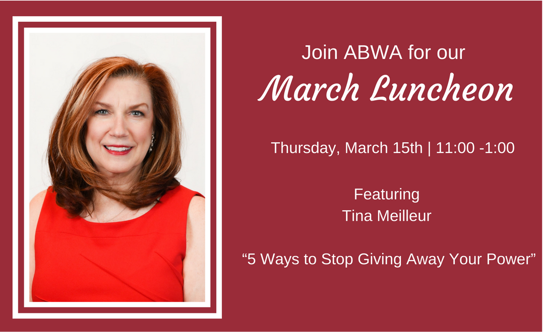 ABWA Announces Tina Meilleur for March Luncheon
