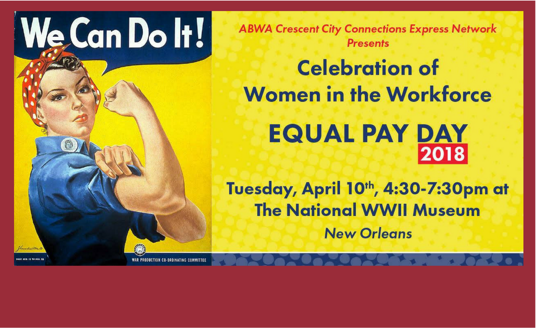 Register For Equal Pay Day 2018!