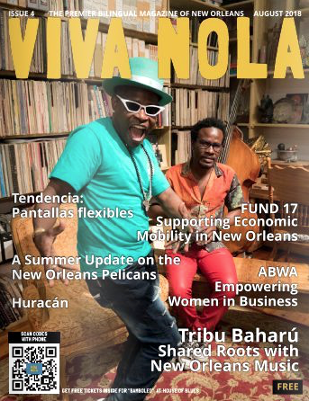 VIVA NOLA Mentions ABWA in August 2018 Edition