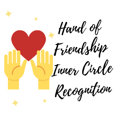 HAND OF FRIENDSHIP INNER CIRCLE RECOGNITION