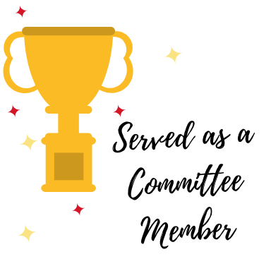 Served as a Committee member - Level 1