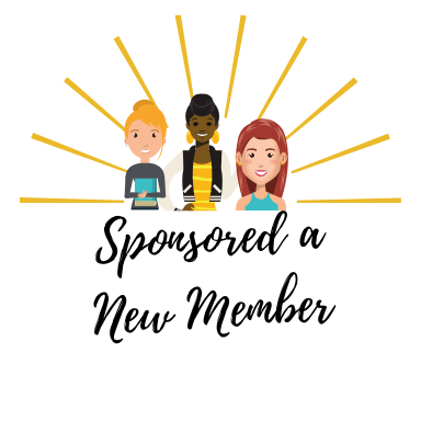 Sponsored a New member - Level 1